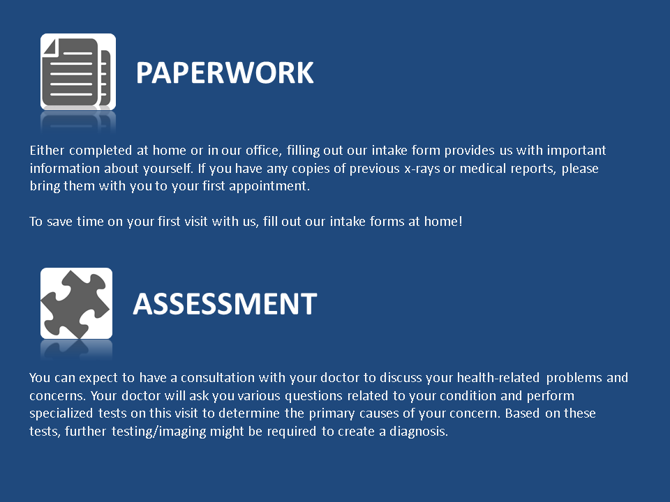 Paperwork Assessment